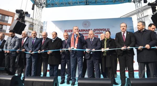 Kuzey Marmara Otoyolu Çatalca-Yassıören Kesimi açıldı